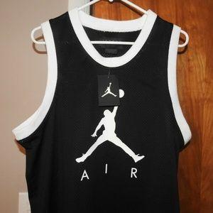 NWT Nike Air Jordan Jumpman Jersey Basketball L